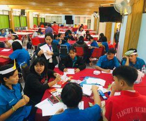 อบรมโครงการงานสวนพฤกษศาสตร์โรงเรียนให้กับนักเรียนแกนนำ